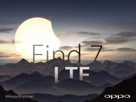 Oppo Find 7: supporto nativo alle reti LTE
