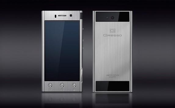 Gresso Radical, Android in titanio a 1300 Euro