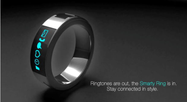 Smarty Ring: ecco l'anello intelligente