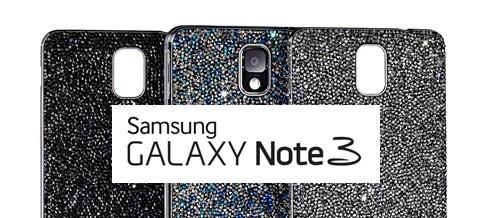 Samsung e Swarovski: in arrivo 3 cover in edizione limitata per Galaxy Note 3