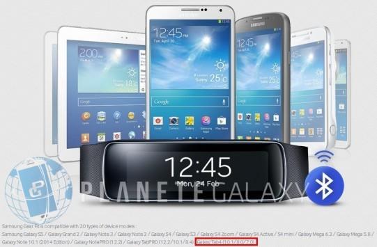 Samsung conferma l'esistenza del Galaxy Tab 4