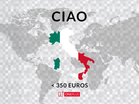 OnePlus One arriverà ufficialmente in Italia a meno di 350€