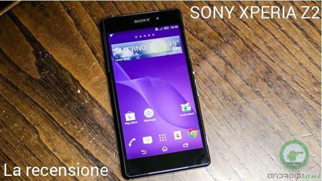Sony Xperia Z2: la recensione di Androidiani.com
