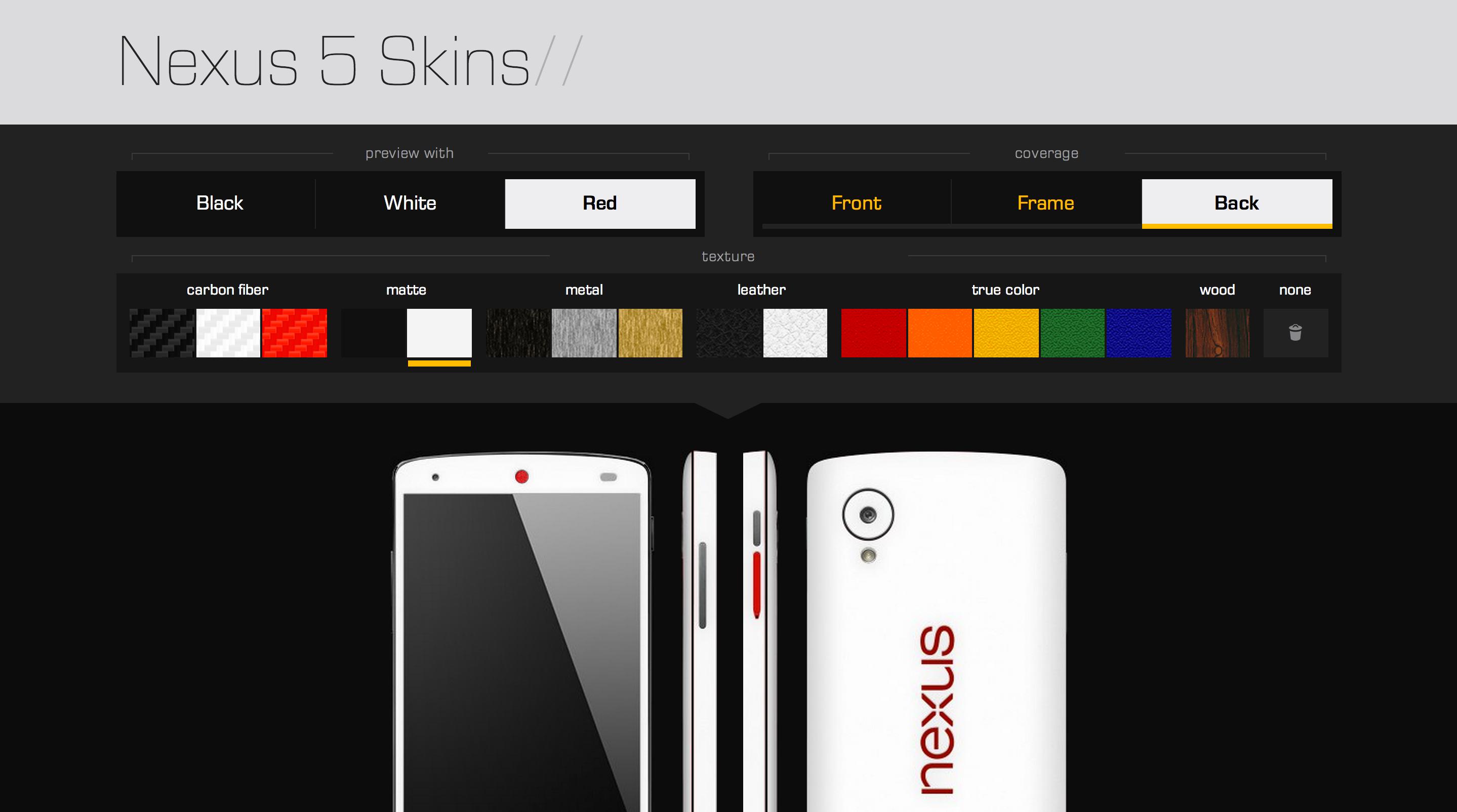Skin dbrand per nexus 5 la recensione di for Nexus 5 skin template