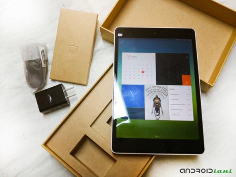 Xiaomi Mipad: unboxing