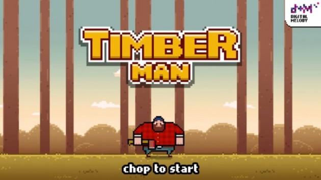 [App Spotlight] Avete amato Flappy Bird? Allora date un'occhiata a Timberman
