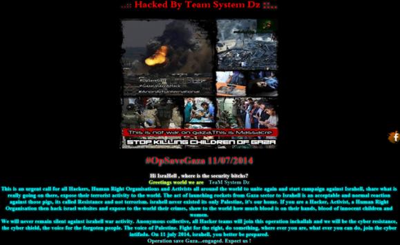 Swipe: sito web hackerato da un gruppo filo-palestinese