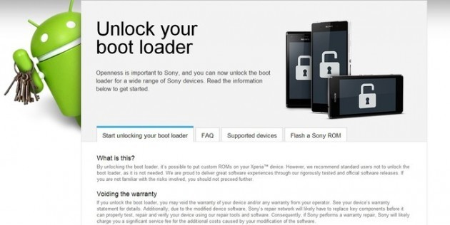 Sony: l'azienda pubblica un tool per semplificare lo sblocco del bootloader