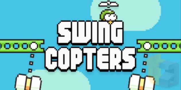 Swing Copters arriva ufficialmente sul Google Play Store