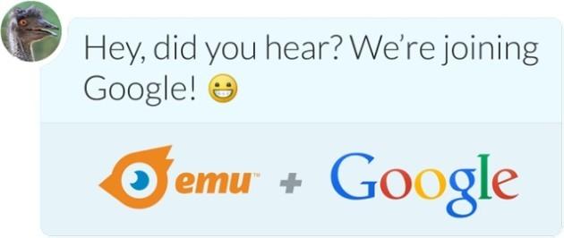 Google acquisisce Emu, uno dei migliori sistemi di messaggistica