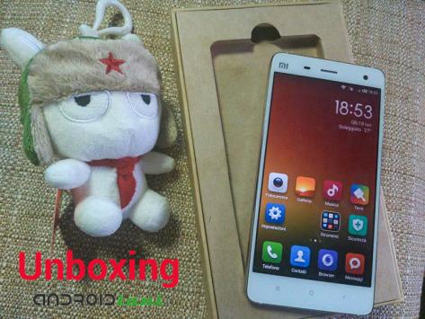 Xiaomi Mi4, il nostro unboxing
