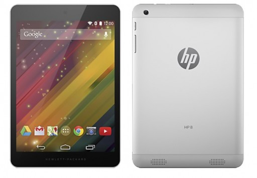 HP 8 G2: nuovo tablet Android economico