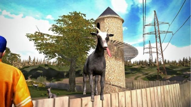 Goat Simulator arriva anche su Android