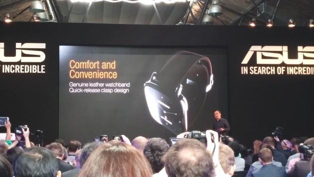 Asus presenta ZenWatch e MeMo pad 7