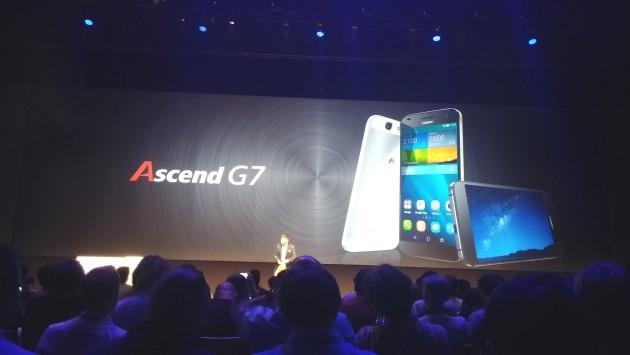 Huawei presenta Ascend G7 [IFA 2014]