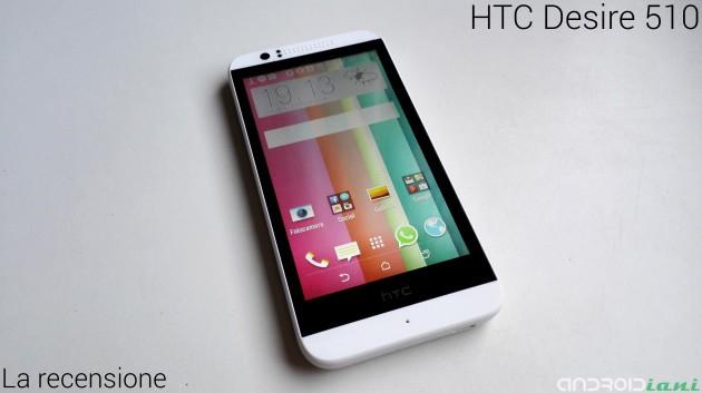 HTC Desire 510: la recensione