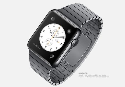 Apple Watch, presentato il primo smartwatch della mela morsicata