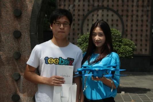 Meizu: consegnato il primo smartphone tramite drone