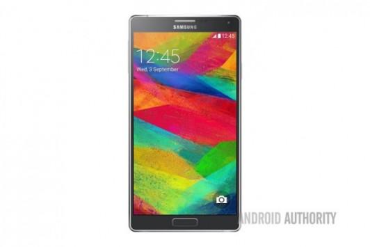 Samsung Galaxy Note 4: nuove informazioni sulle specifiche tecniche e nuova immagine