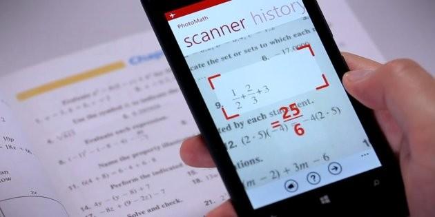PhotoMath: risolvere le equazioni con lo smartphone