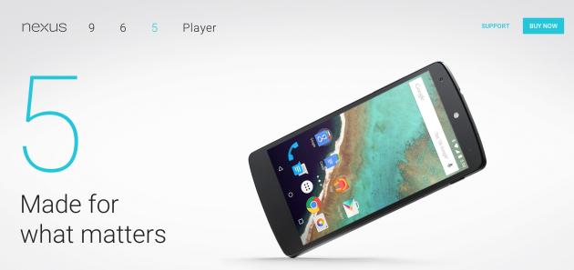 Nexus 5 sarà l'alternativa economica e dalle dimensioni ridotte; salutano Nexus 7 e 10
