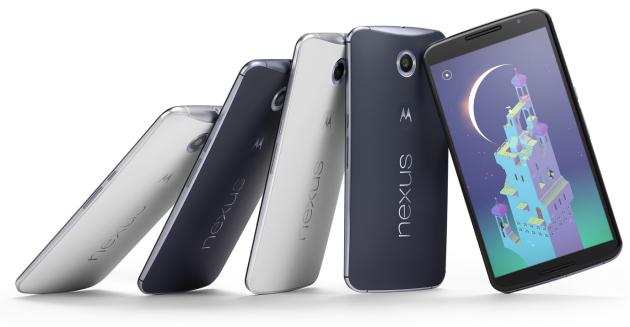 Google Nexus 6 ufficiale: 5.96″ QHD, 3220 mAh e fotocamera da 13MP