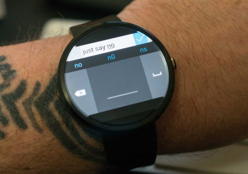 Microsoft: nuova e particolare tastiera dedicata ad Android Wear