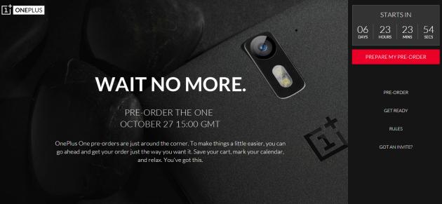 OnePlus One, si cambia: preordini al via dal 27 Ottobre