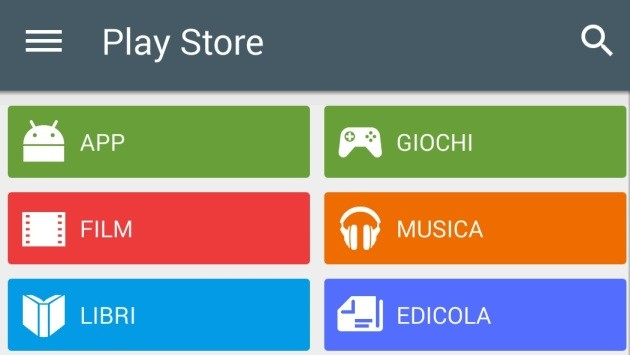Google Play Store 5: l'update dello Store che si prepara a Lollipop [APK]