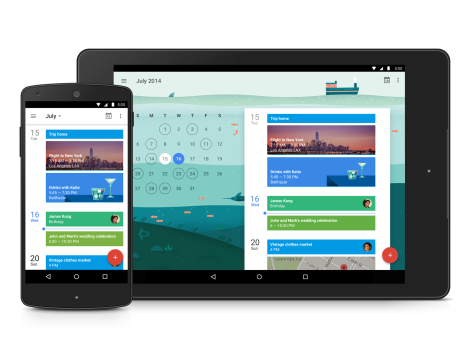 Presentato ufficialmente il nuovo calendario di Google