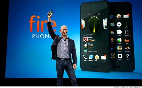 Amazon produrrà un nuovo Fire Phone