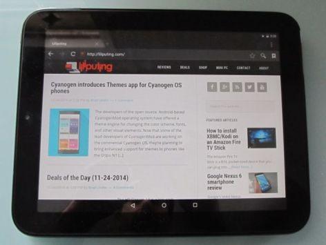 HP TouchPad: da XDA arriva una ROM con Android 5.0 Lollipop