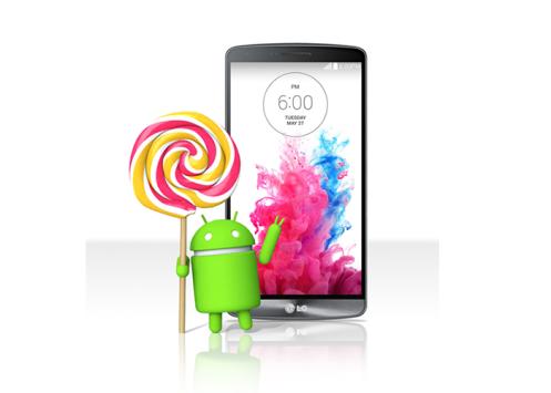 LG G3 sarà aggiornato a Lollipop la prossima settimana