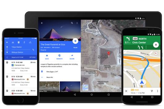 Google Maps: il material design raggiunge le mappe [DOWNLOAD]